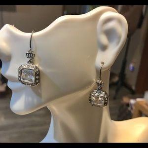 Juicy Couture vintage earrings dangling gems